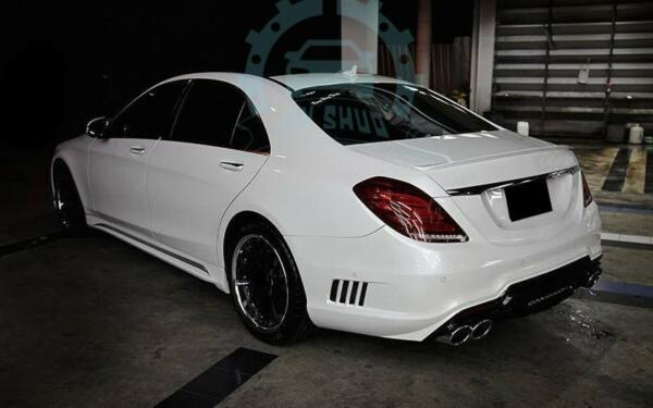 A Set Bodykit Car Body Kit Update For Mercedes-Benz W222 S-class S550S63S400