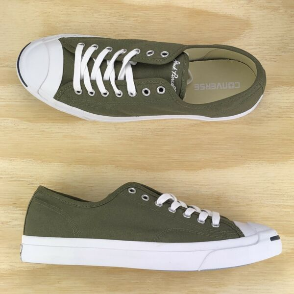Converse Jack Purcell Signature Pro Ox Green White Low Top [157785C] Size 9