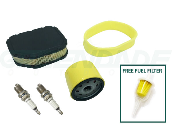 AIR FILTER TUNE UP KIT FOR CUB CADET LT1042 LT1045 LTX1040 LTX1042 LTX1045 RZT42