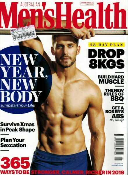 MEN'S HEALTH Australian MAGAZINE JAN NEW YEAR NEW BODY