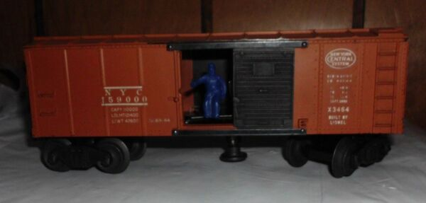 LIONEL New York System Central NYC 159000 Operating Boxcar X3464 $15.99