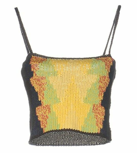 Womens Iceberg Sweater Knitted Halter top Tank Top US Size Size Small Size 42 $89.00