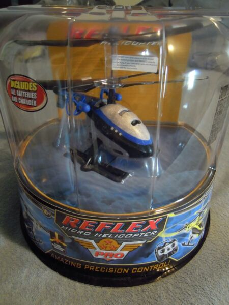 Air Hogs Reflex R/C Helicopter (Blue) Heli
