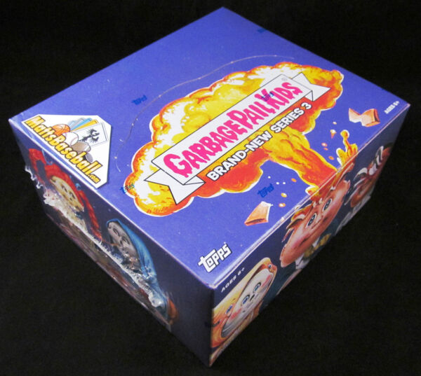 2013 GARBAGE PAIL KIDS BNS3 Series 3 Factory Sealed RETAIL BOX; 24 packs10ct