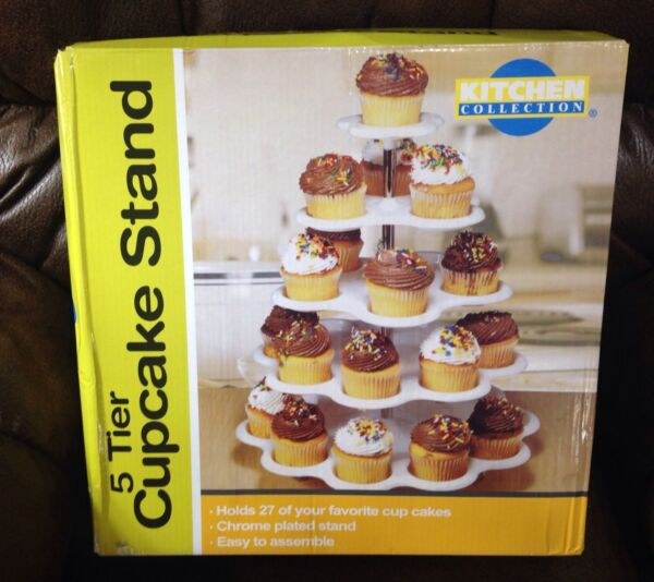 Kitchen Collection 5 Tier Cupcake Stand