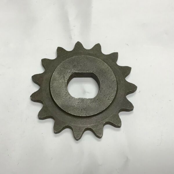 15 Tooth Sprocket Dual D-bore for use with #25 chain for electric scooter motors