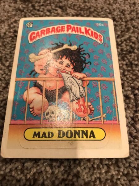 Garbage Pail Kids Mad Donna 50a