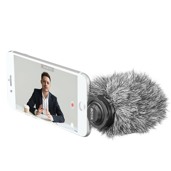BY-DM200 Digital Stereo Cardioid Condenser Microphone For iOS Device iPhone US!