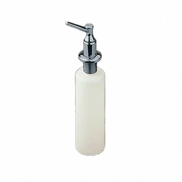 Bathroom Liquid Soap Dispenser Chrome and Plastic Dispenser | Renovator's Supply