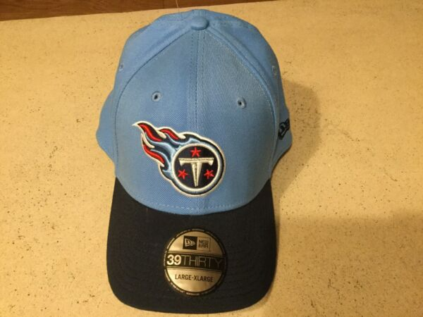 TENNESSEE TITANS Classic New Era 39THIRTY Hat Cap Large Extra Large Flex Fit $19.95