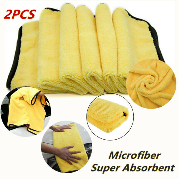 2X92*56cm Car Wash Cleaning Drying Towel Absorbent Soft&Durable Microfiber Agent
