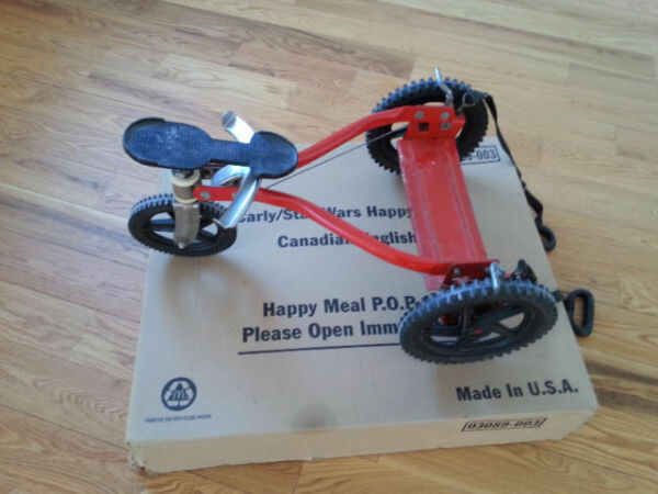 Rare Vintage MangChild Child Hand Pulley Stand Up Tricycle Bike $1400.00