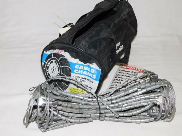Laclede Cable Tire Snow Chains Stock # 1030 - Never Used - in original bag