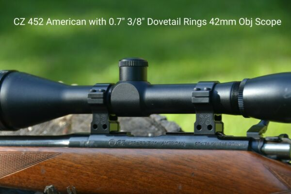Scope Rings - 11mm and 38