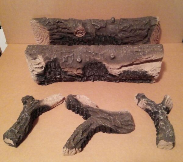 VERMONT CASTINGS MAJESTIC FIREPLACE NVCRL R REPLACEMENT LOG SET #20001416 NEW
