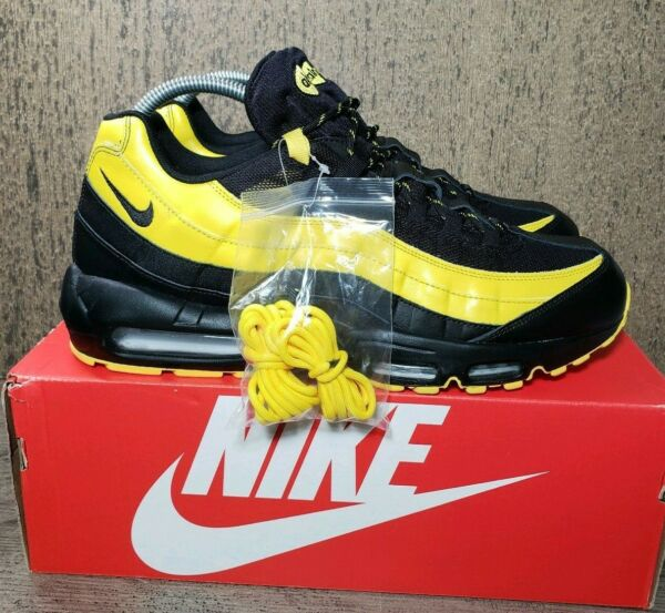 Nike Air Max 95 Men's Size 13  Black-TOUR Yellow AV7939-001 Frequency Pack