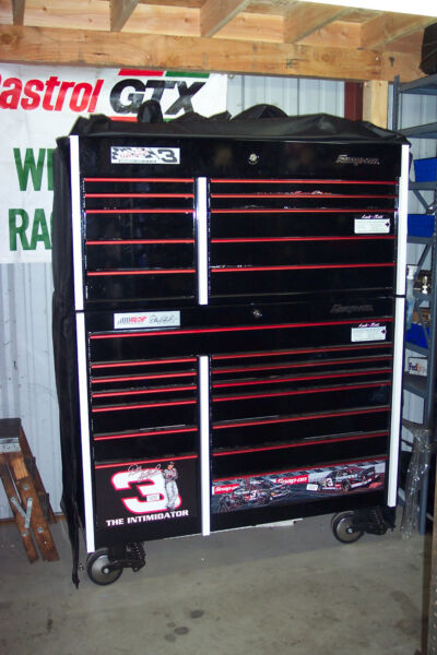 Dale Earnhardt Sr commemorative edition toolbox 2437 out of 4200