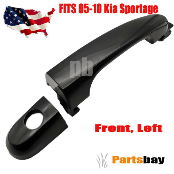 New Exterior Outside Door Handle LH Driver Side Front for 05-10 Kia Sportage