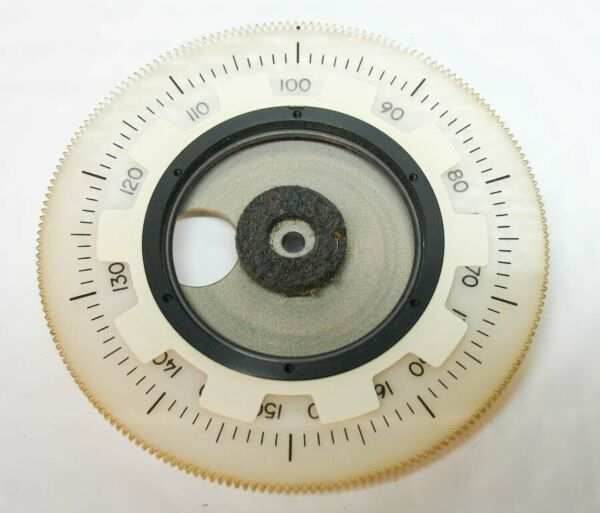 COLLNS S-Line PARTS: FREQUENCY DIAL FOR 75S-3 75S-3B 32S-3 KWM-2(A)