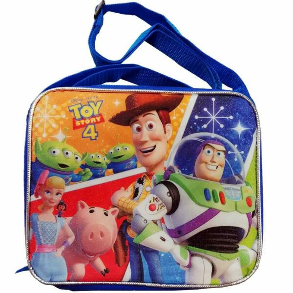 Toy Story 4 Rectangle Lunch Bag with Shoulder Strap