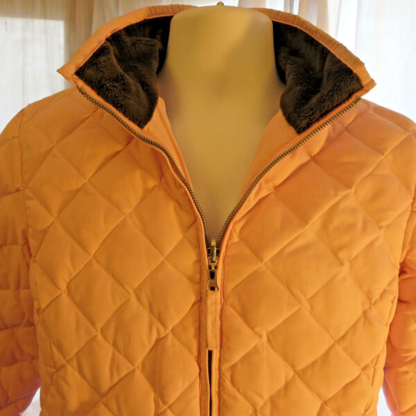 Free Country Quilted Chalet Packable Jacket Pretty Pink S Warm Lined fast ship $11.18