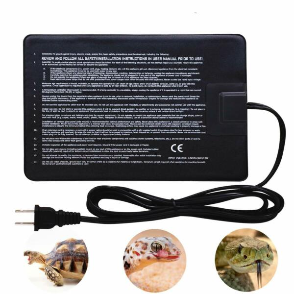 Aiicioo Upgrade Version Under Tank Heater Reptile Heating Pad Ideal For Hermit $17.99