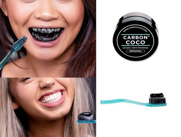 Carbon Coco Natural Australian Teeth Whitening Activated Charcoal Tooth Polish $29.99
