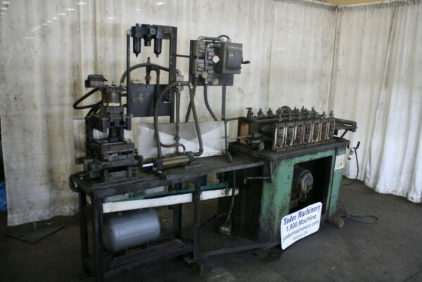 7 STAND X 1 1 4quot; MAPLEWOOD ROLLFORMER amp; CUTOFF: YODER #67742