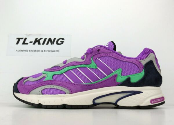Adidas Originals Temper Run 90 Retro Style Shock Purple Glow F97208 Msrp $140 FF