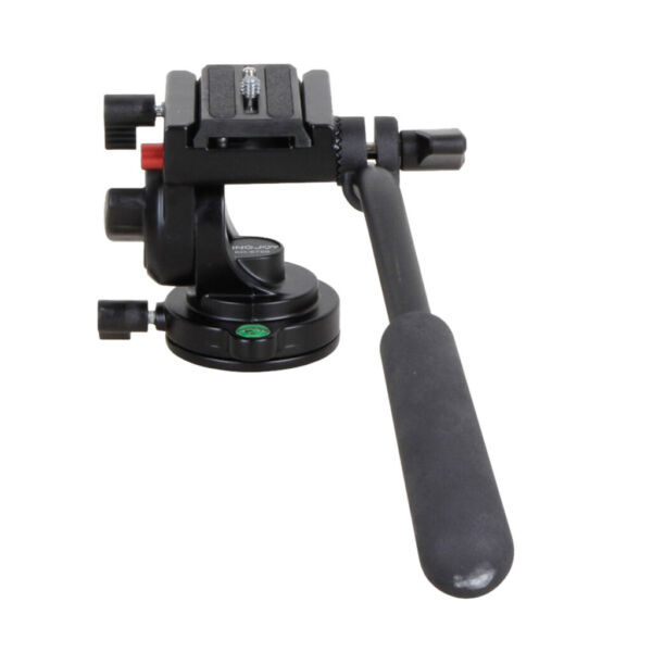 KH 6750 Single Flexible Aluminum Camera Video Fluid Tripod Head For Camera
