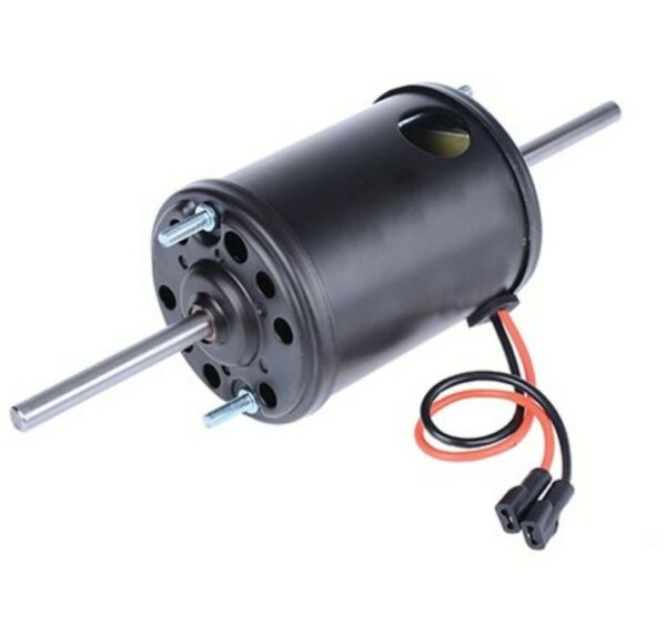 Fan Motor 12v Dual 8mm Shaft CCW Single Speed Suit Iveco Acco