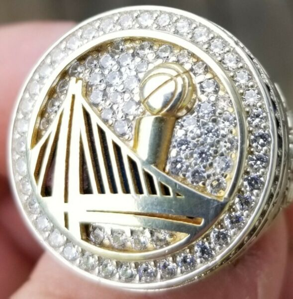 2017 GOLDEN STATE WARRIORS NBA WORLD CHAMPIONS CHAMPIONSHIP RING AUTHENTIC CURRY