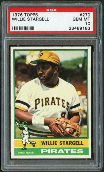 1976 Topps 270 Willie Stargell Pirates PSA 10  23489183