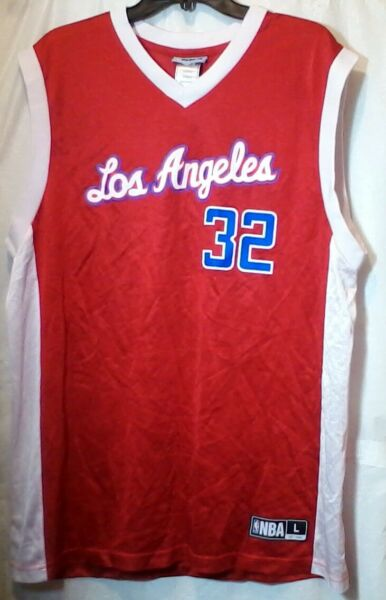 Adidas Los Angeles LA Clippers NBA Player Blake Griffin #32 Jersey Size Large