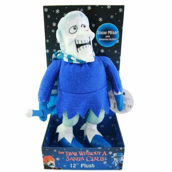 NECA The Year Without a Santa Claus Snow Miser Plush