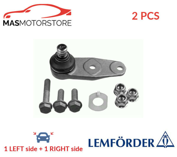 SUSPENSION BALL JOINT PAIR FRONT LOWER LEMFÖRDER 26768 01 2PCS P NEW
