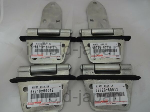 1969-1986 Toyota Land Cruiser FJ40 BJ40 Genuine Front Steel Door Hinges SET FS