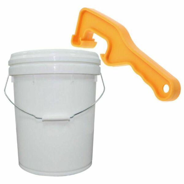 1Pc ABS Plastic Bucket Pail Paint Barrel Lid Can Opener Opening Home Hand Tool