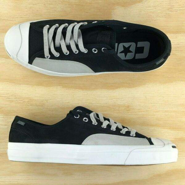Converse Jack Purcell Pro Cons Ox Low Top Black White Grey 162510C Multi Size
