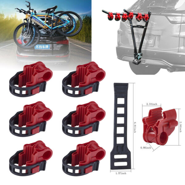 6pcs set Car Bicycle Stand SUV Vehicle Trunk Mount Bike Stand Storage Carrier US $20.99