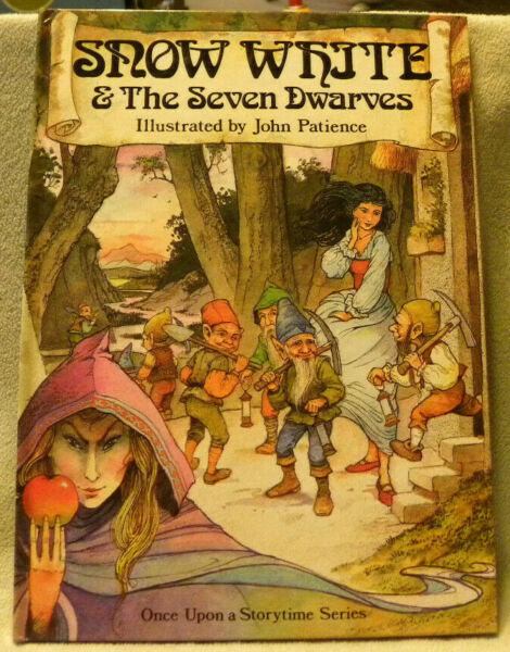 Snow White & The Seven Dwarves Illustrated by John PatienceHCprinted in Italy