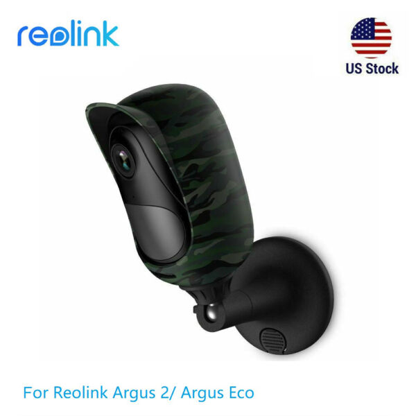 Protector Camouflage Skin Case for Reolink Security Camera Argus 2 Argus Pro
