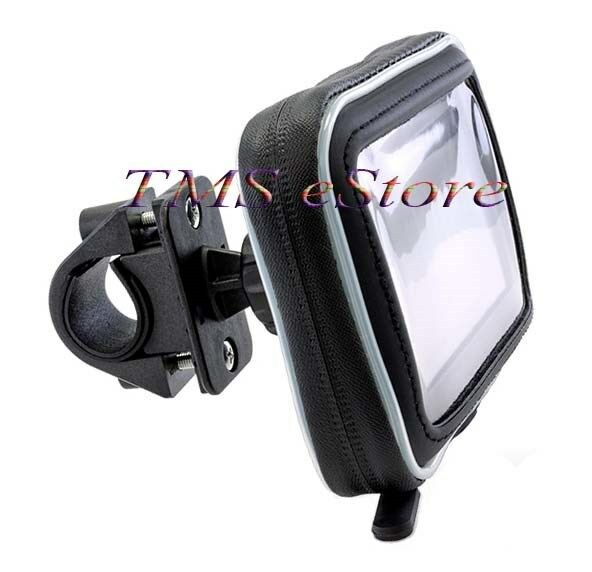 Waterproof Case amp; Motorcycle Handlebar Mount for Garmin nuvi 2595 LMT 5quot; GPS WPC $23.95