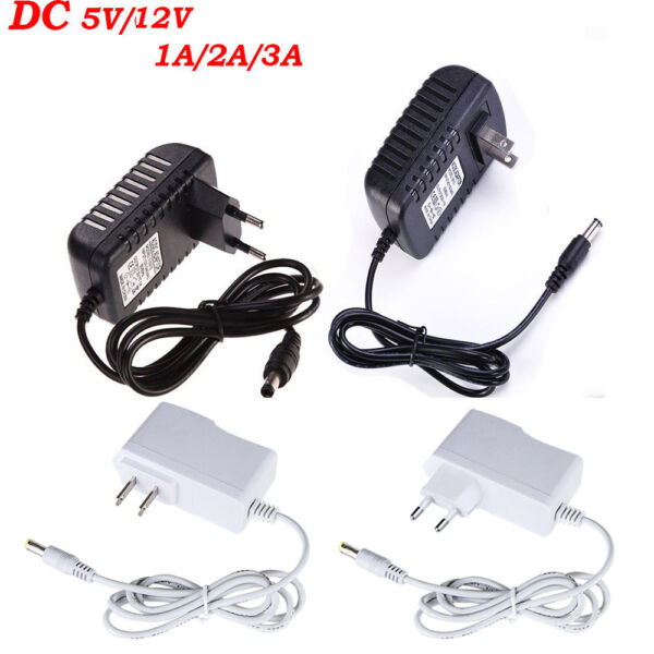 DC 5V 12V 123A AC Adapter Charger Power Supply for LED Strip Light