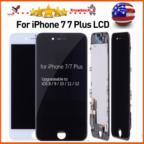 Assembly For iPhone 7 Plus 7 Full LCD 3D Touch Screen Replacement With