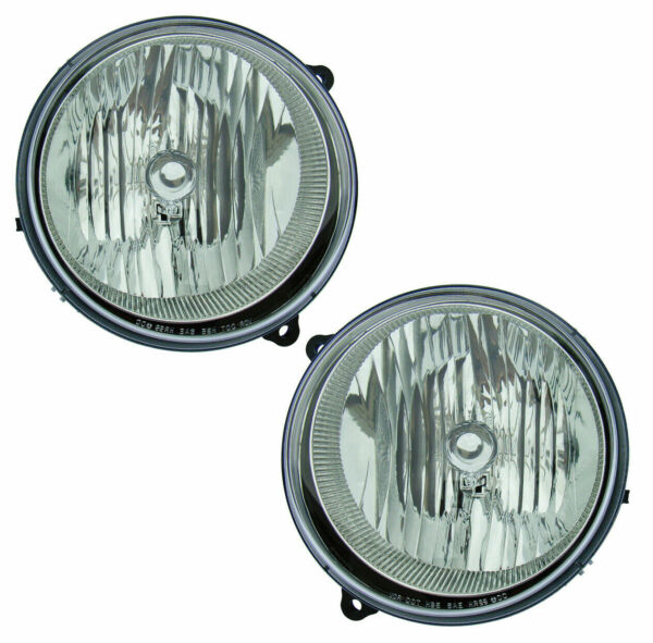 FITS FOR 2005 2006 2007 JEEP LIBERTY HEADLIGHT RIGHT amp; LEFT 55157140AA 5515714