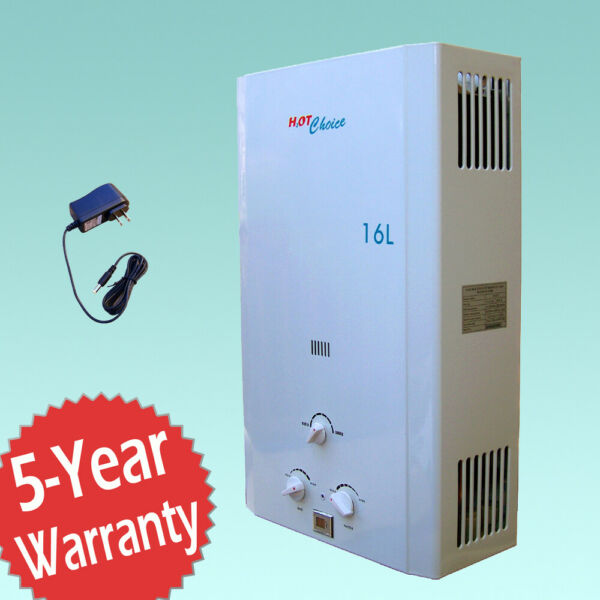 HOT CHOICE™ NATURAL GAS TANKLESS WATER HEATER 4.3GPM 16 L $294.95