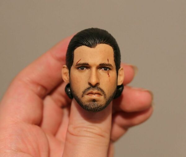 Custom ! Kit Harington Jon Snow Game of Thrones 16 head
