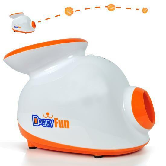 Serene-Life SLDGFN5 Automatic Dog Ball Launcher Fetching Machine Dog Fetch Toy