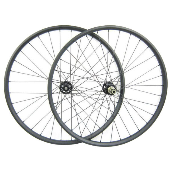 26er MTB Wheels Superlight 25x25 Clincher Mountain Bicycle Full Carbon Wheels